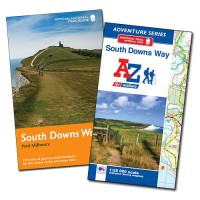 South Downs Way Adventure Series Adventure Atlas by Geographers A-Z Map Co Ltd