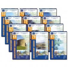 The E8 Irish Coast to Coast | 1:50,000 Discovery Series Map Bundle