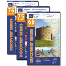 The South Leinster Way Map Bundle   1:50,000 Discovery Series