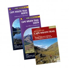 Cape Wrath Trail Map and Book Bundle