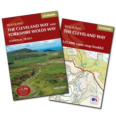 Walking the Cleveland Way and the Yorkshire Wolds Way | Guidebook and Map Booklet
