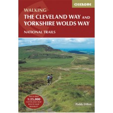 Walking the Cleveland Way and the Yorkshire Wolds Way   Guidebook Only