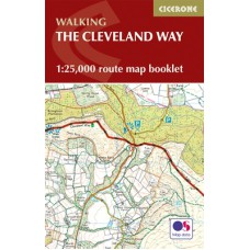 Walking the Cleveland Way   Map Booklet Only