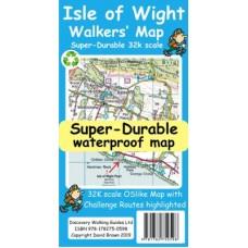 Isle of Wight Walker's Map