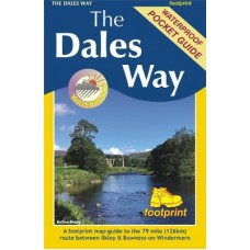 The Dales Way | A footprint map-guide to the 79 mile route between Ilkley & Bowness-on-Windermere