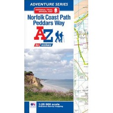 Norfolk Coast Path and Peddars Way | Official National Trail Map | A-Z Adventure Atlas