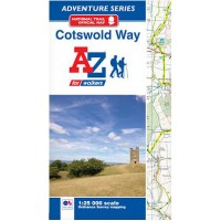 Cotswold Way   Official National Trail Map   A-Z Adventure Atlas