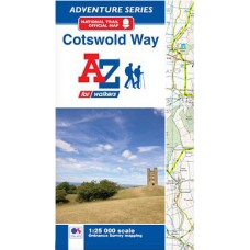 Cotswold Way | Official National Trail Map | A-Z Adventure Atlas