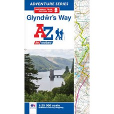 Glyndŵr's Way | Official National Trail Map | A-Z Adventure Atlas