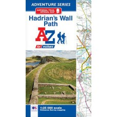Hadrian's Wall Path | Official National Trail Map | A-Z Adventure Atlas