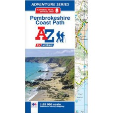 Pembrokeshire Coast Path | Official National Trail Map | A-Z Adventure Atlas