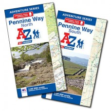Pennine Way North and South | Official National Trail Maps | A-Z Adventure Atlas