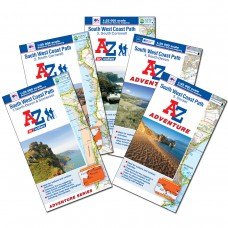 South West Coast Path | Full Set of 5 Maps | Official National Trail Maps