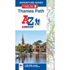 Thames Path | Official National Trail Map | A-Z Adventure Atlas
