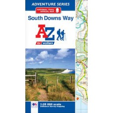 South Downs Way | Official National Trail Map | A-Z Adventure Atlas