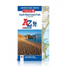South West Coast Path | 5. Dorset | Official National Trail Map | A-Z Adventure Atlas