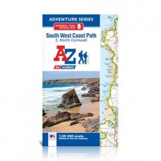 South West Coast Path | 2. North Cornwall | Official National Trail Map | A-Z Adventure Atlas