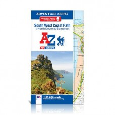 South West Coast Path | 1. North Devon & Somerset | Official National Trail Map | A-Z Adventure Atlas