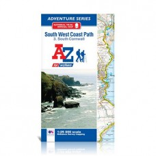 South West Coast Path | 3. South Cornwall | Official National Trail Map | A-Z Adventure Atlas