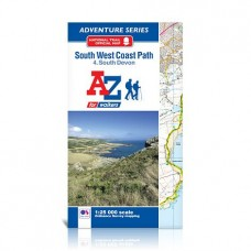 South West Coast Path | 4. South Devon | Official National Trail Map | A-Z Adventure Atlas