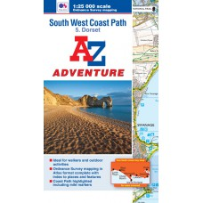South West Coast Path | 5: Dorset | Official National Trail Map