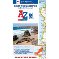 South West Coast Path | 2: North Cornwall | Official National Trail Map