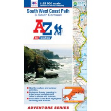 South West Coast Path | 3: South Cornwall | Official National Trail Map