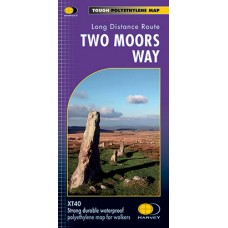 Two Moors Way | XT40 Map Series