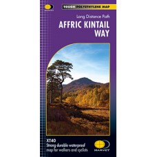 Affric Kintail Way | Long Distance Trail | XT40 Map Series
