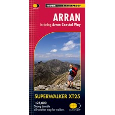 Arran | Including Arran Coastal Way | Superwalker XT25 Map Series
