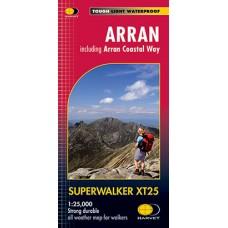 Arran   Including Arran Coastal Way   Superwalker XT25 Map Series