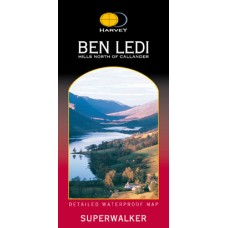 Ben Ledi & Hills North of Callander | Superwalker XT25 Map Series