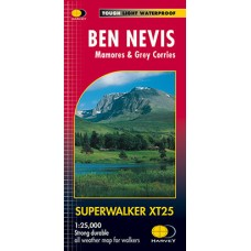 Ben Nevis | Mamores & Grey Corries | Superwalker XT25 Map Series