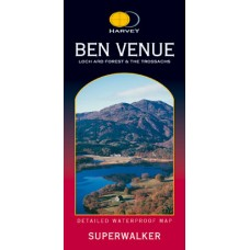 Ben Venue | Loch Ard Forest & The Trossachs | Superwalker XT25 Map Series