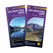 Cape Wrath Trail North & South | Fort William to Cape Wrath | XT40 Map Series