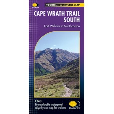 Cape Wrath Trail South | National Trail Map | XT40 Map Series