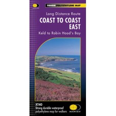 Coast to Coast East | Keld to Robin Hood's Bay | Long-Distance Route | XT40 Map Series
