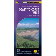 Coast to Coast West | St Bees to Keld | Long-Distance Route | XT40 Map Series