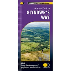 Glyndŵr's Way | National Trail Map | XT40 Map Series
