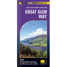 Great Glen Way | Scotland's Great Trails Map | XT40 Map Series