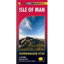 Isle of Man | Superwalker Map | XT30 Map Series