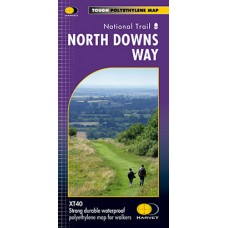 North Downs Way | National Trail Map | XT40 Map Series