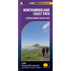 Northumberland Coast Path & Berwickshire Coastal Path | XT40 Map Series