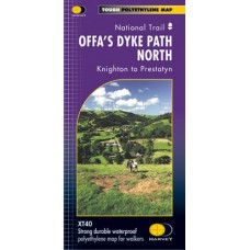 Offa's Dyke Path North | Knighton to Prestatyn | National Trail Map | XT40 Map Series