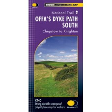 Offa's Dyke Path South | Chepstow to Knighton | National Trail Map | XT40 Map Series