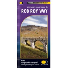 Rob Roy Way | Scotland's Great Trails Map | XT40 Map Series