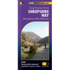 Shropshire Way | Long Distance Route | XT40 Map Series