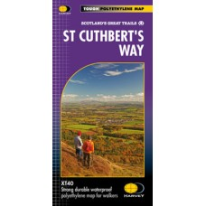 St Cuthbert's Way | Scotland's Great Trails | XT40 Map Series