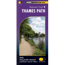 Thames Path | National Trail Map | XT40 Map Series