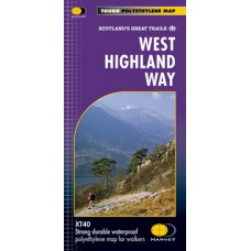 West Highland Way | Scotland's Great Trails Map | XT40 Map Series